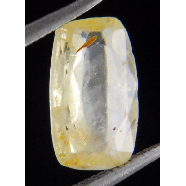 1.61 Ct Ceylon Untreated Natural Yellow Sapphire Gemstone
